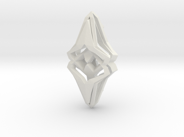 """head to head, heart to heart"" ORIGIN, pendant 3d printed"