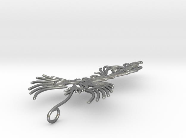 Phoenix pendant  6cm 3d printed