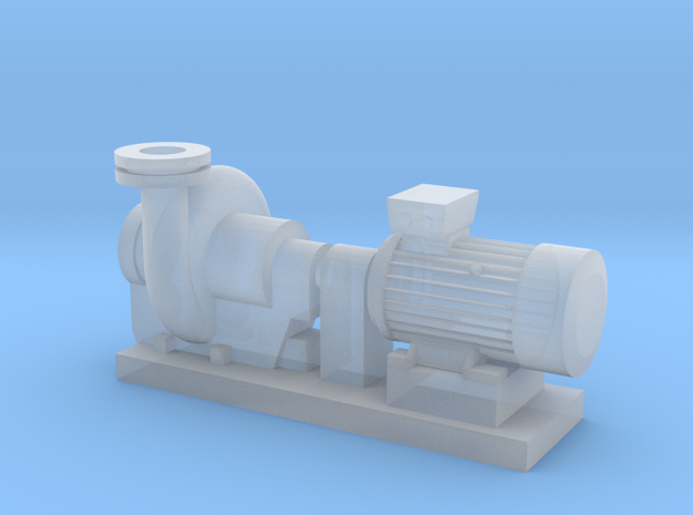 Centrifugal Pump #2 (Size 1) in Smooth Fine Detail Plastic