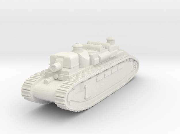 French Char 2C Alsace- 1/285 (Qty.1) in White Strong & Flexible