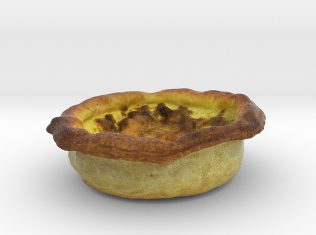 The Meat Quiche in Full Color Sandstone