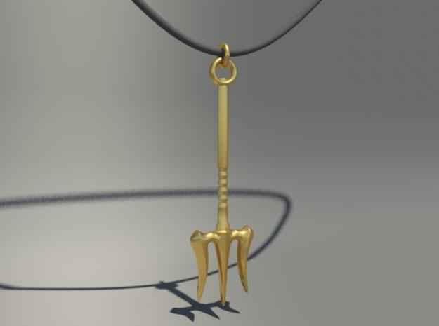 [By-mE] Necklace : weapon of poseidon in Stainless Steel