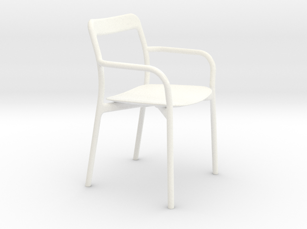 Branca Modern Designer Chair 1:12 scale