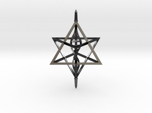 Merkaba Spinner DNA - 6cm 3d printed