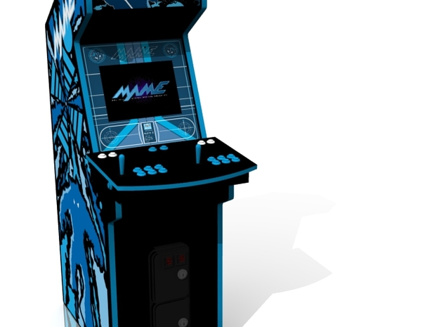 Arcade Machine 3d printed