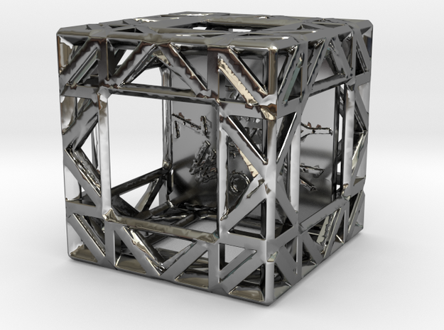 ZWOOKY Style 3420  -  Sphere in Fine Detail Polished Silver
