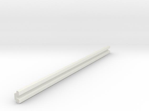 Leitplanke Version B 1:87 in White Natural Versatile Plastic