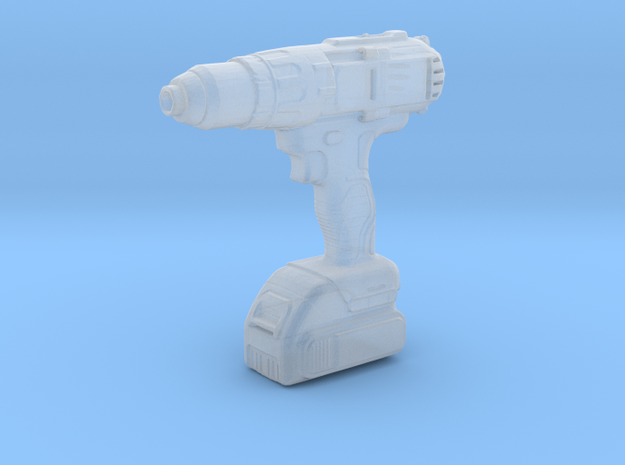 Cordless Screwdriver - 1/10 in Smooth Fine Detail Plastic