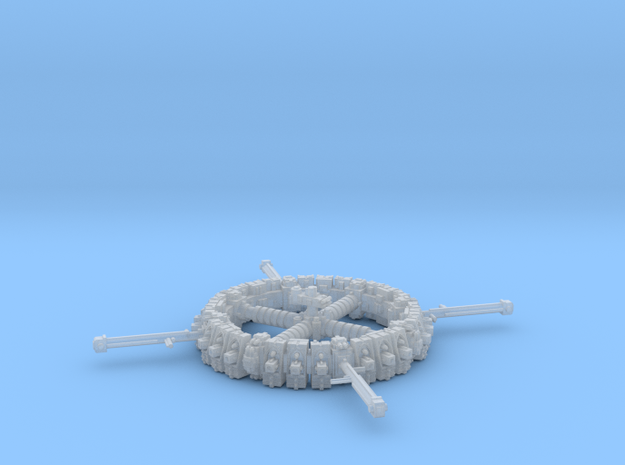 Space Dock in Frosted Ultra Detail