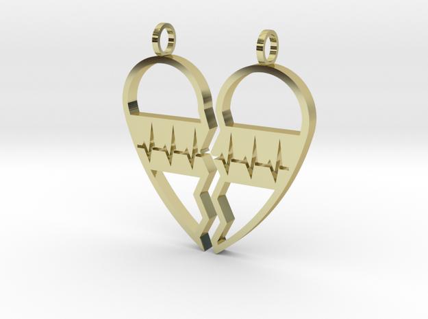 Split Heart Pendant