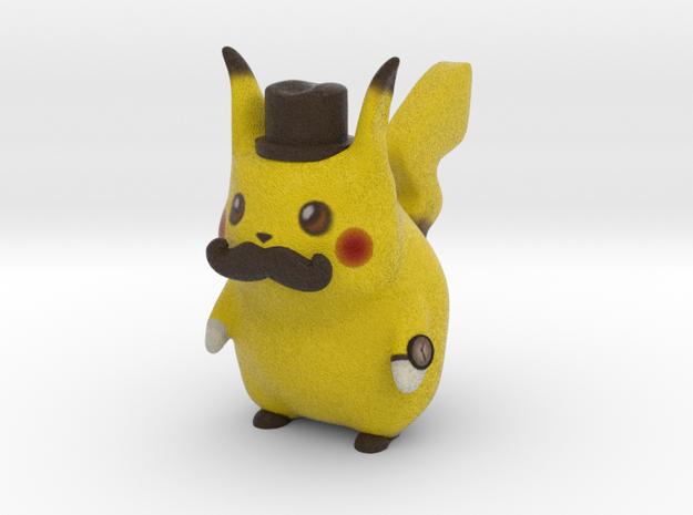 Pokemon - Gentleman Pikachu in Full Color Sandstone