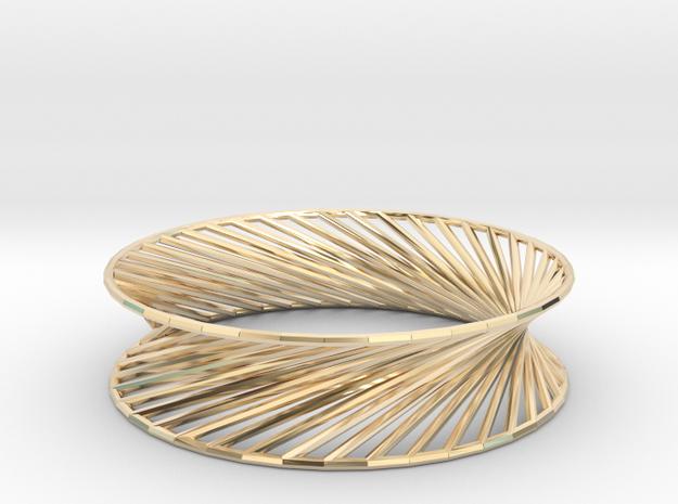 Hyperboloid Structure Bracelet 3d printed
