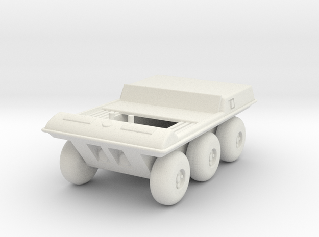 GV02 Two Seat Moon Buggy in White Natural Versatile Plastic