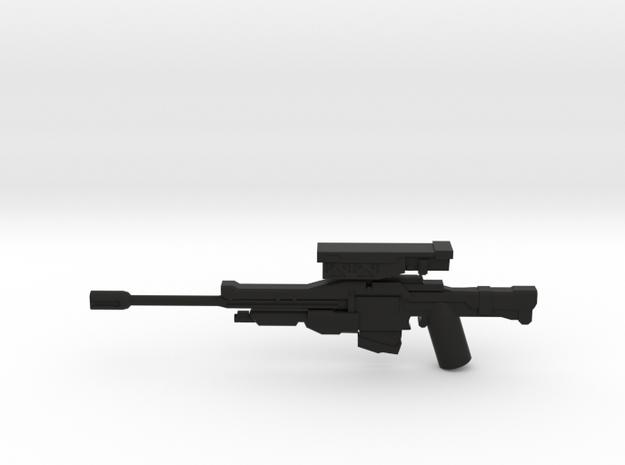 Hunter Sniper Rifle in Black Natural Versatile Plastic