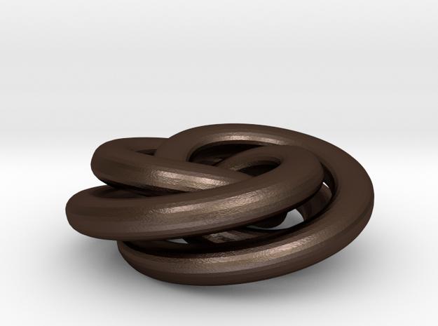 Torus Knot Pendant 3d printed