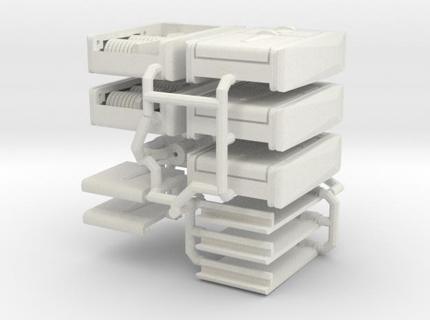 1:6 environment scanner Strong Flexible in White Natural Versatile Plastic