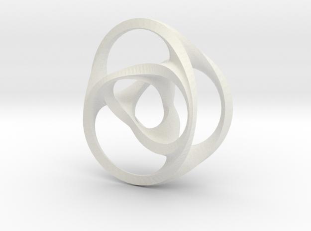 Scherk-Collins surface in White Natural Versatile Plastic