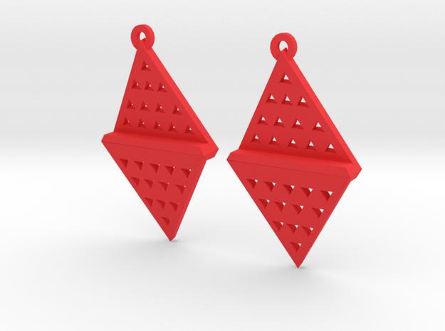 Tri Flash in Red Processed Versatile Plastic
