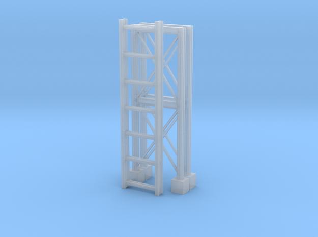 'N Scale' - Pipe Bridge in Smooth Fine Detail Plastic