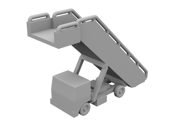 1:400 - Airstair_v4 [x5] in Smooth Fine Detail Plastic