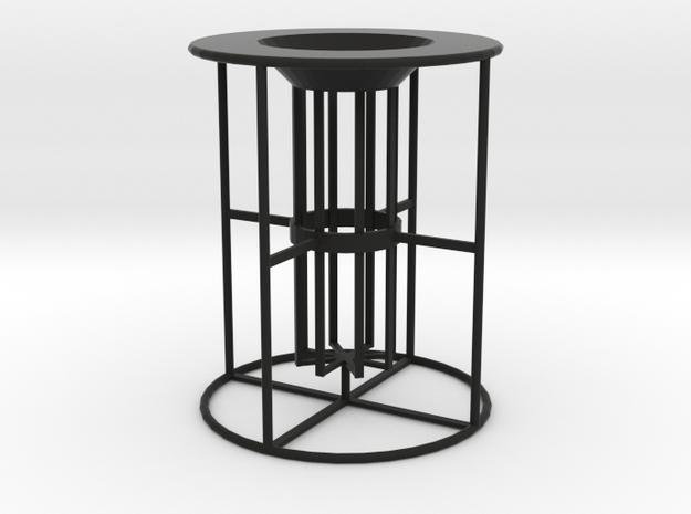 Car E-Cig Holder (Ego vertical small) in Black Natural Versatile Plastic