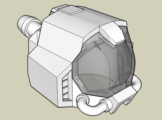 Omega Helmet 3d printed