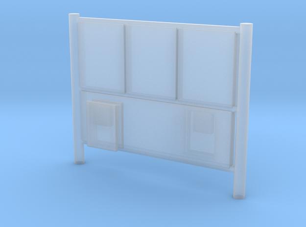 DSB Reklameskilt 1:160 in Smooth Fine Detail Plastic