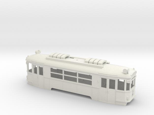 BH Wiener Linien Arbeitstriebwagen Gehäuse in White Natural Versatile Plastic