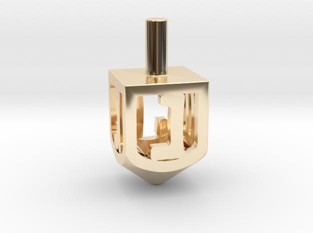 Dreidel (small version) 3d printed