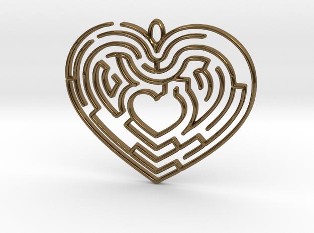 Heart Maze-shaped Pendant 4