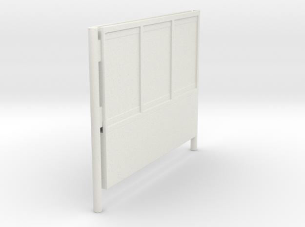 1/45 - DSB K74 Reklameskilt (3 reklamer) in White Natural Versatile Plastic