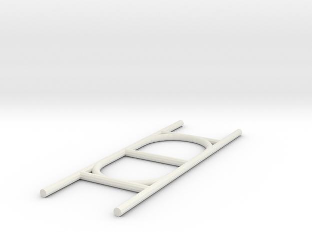 Paracord Holder in White Natural Versatile Plastic
