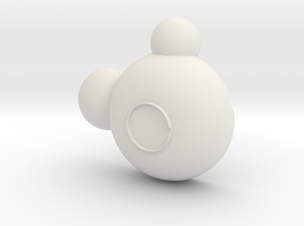 Mickey Bowl in White Strong & Flexible