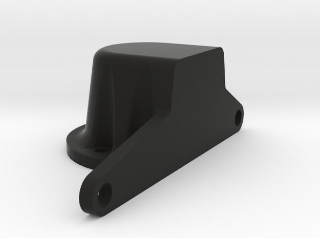 HD Trans 4 Cylinder in Black Natural Versatile Plastic