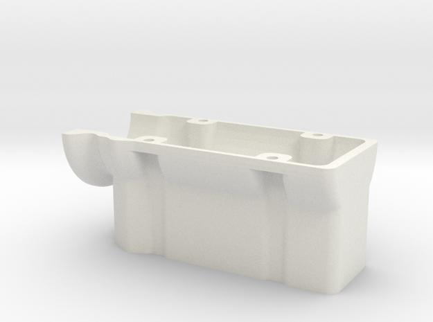 HD 4 Cylinder Block in White Natural Versatile Plastic