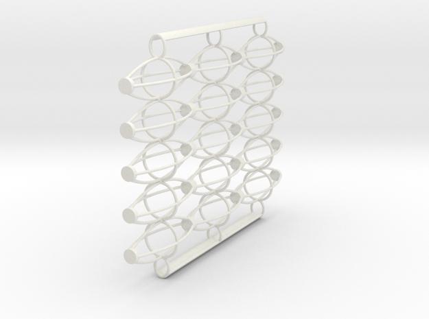 LogoMark 07F in White Natural Versatile Plastic