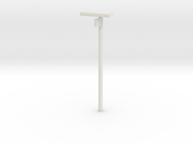 DSB Stations lampe med spornummer VIA 1/87 in White Natural Versatile Plastic