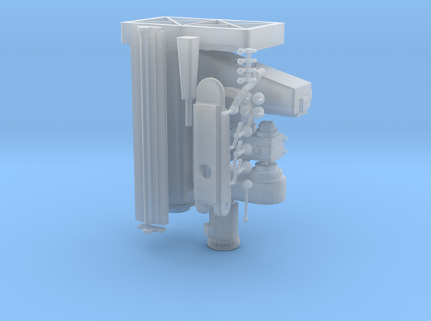 Milling Machine in Smooth Fine Detail Plastic