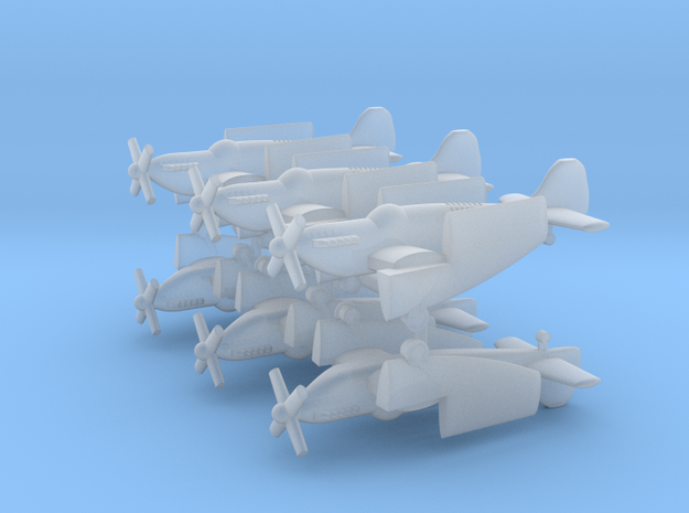 1/400 Fairey Firefly (x6) in Smooth Fine Detail Plastic