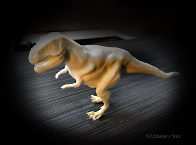 Tyrannosaurus Rex 3d printed photo of the trex print