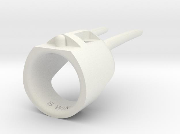 BbRabbit 2.4 Size 8 in White Natural Versatile Plastic