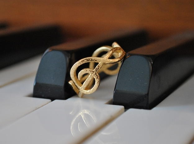 Treble Clef Ring 2
