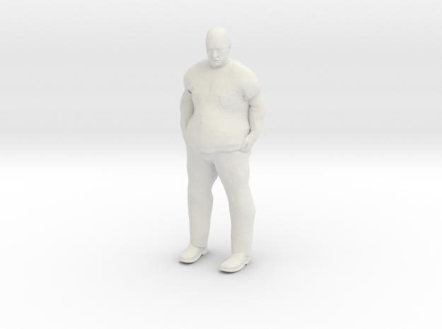Big Guy 1/20 scale in White Natural Versatile Plastic