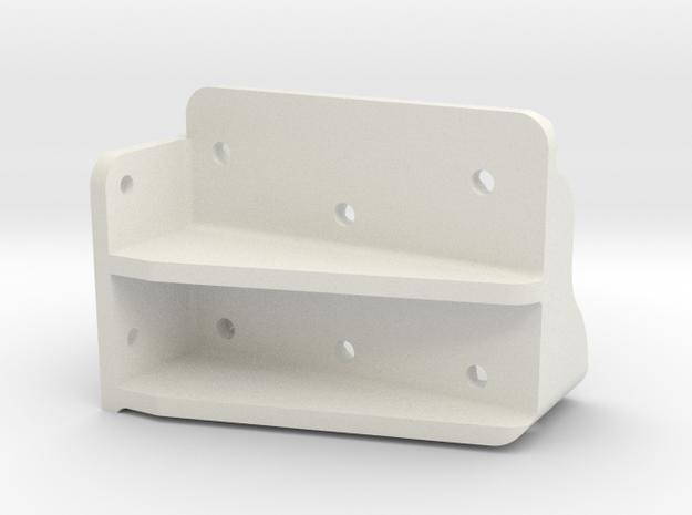 Pilot 1.6 Inch Step Left in White Natural Versatile Plastic