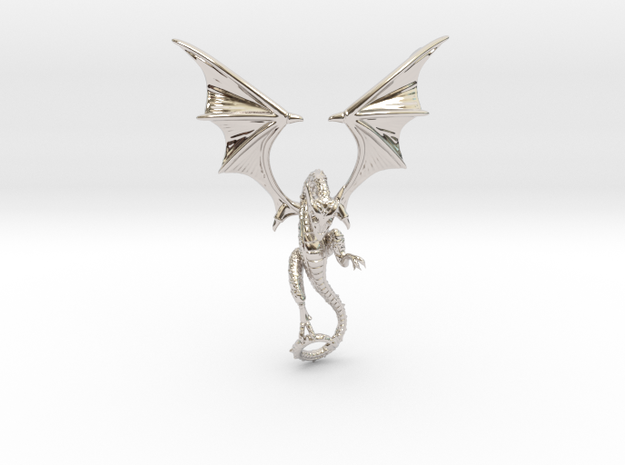 The Great Dragon pendant bronze, silver or gold