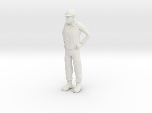 Foreman 1/20 scale in White Natural Versatile Plastic
