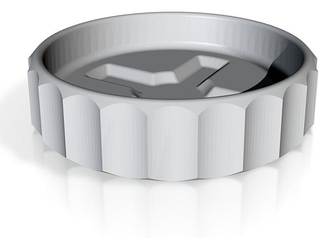 Cruciform Dish 3d printed