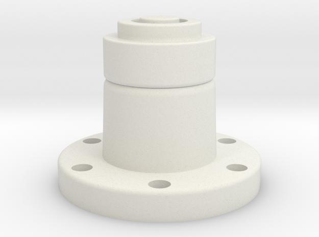 Leghose in White Natural Versatile Plastic