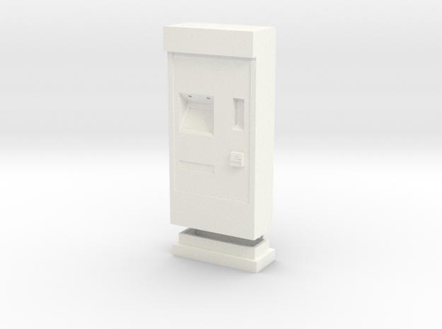 RhB Fahrkartenautomat in White Processed Versatile Plastic