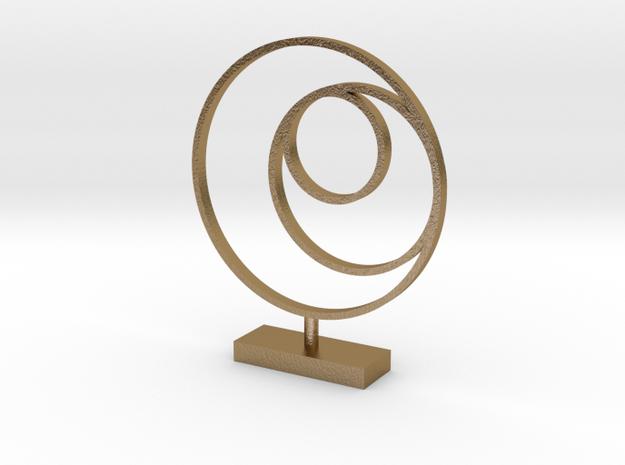 3 Circle Metal Art 1:12 scale modern art sculpture